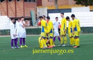 Imagen del partido   Benjamín Alguacil / Jaén en Juego