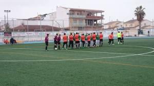 Saludo entre equipos | Santo Tomé