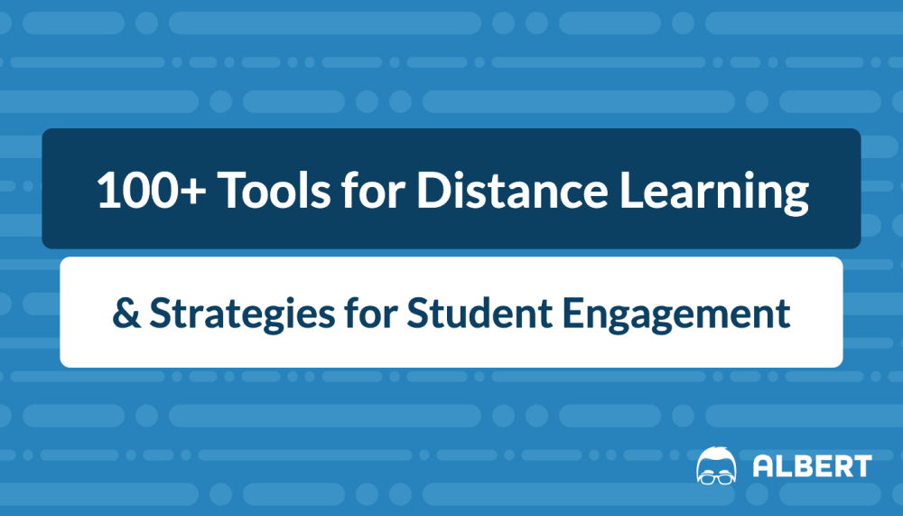 medium resolution of 131 Tools for Distance Learning \u0026 Strategies for Student Engagement    Albert Resources