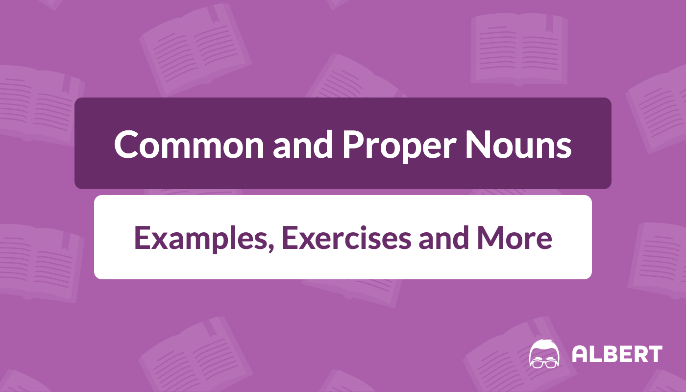 hight resolution of Common and Proper Nouns: Definition