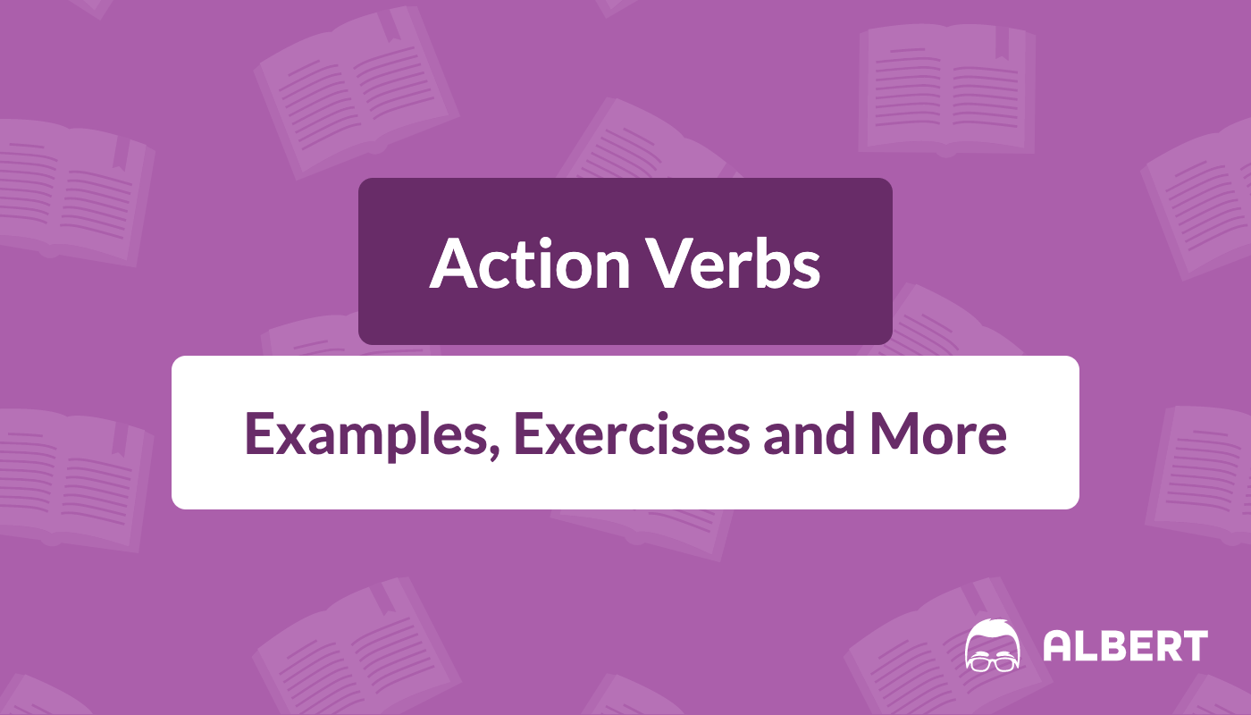 hight resolution of Action Verbs: Definition