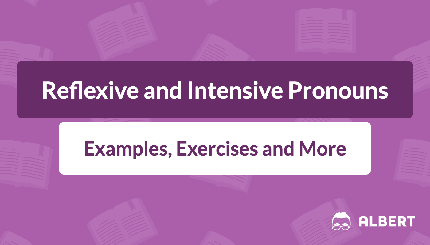 Reflexive And Intensive Pronouns Definition Examples