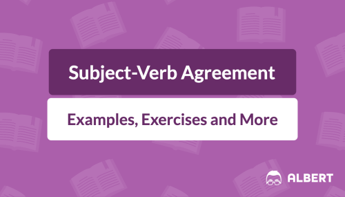 small resolution of Subject-Verb Agreement: Definition
