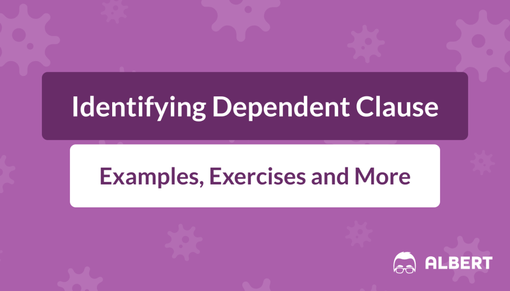 medium resolution of Identifying Dependent Clauses: Definition
