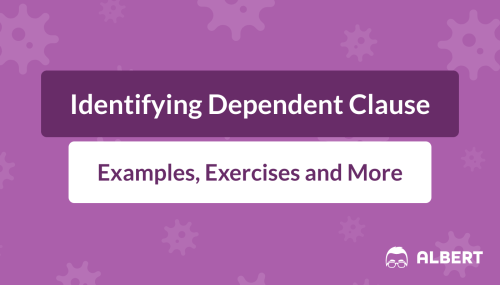 small resolution of Identifying Dependent Clauses: Definition