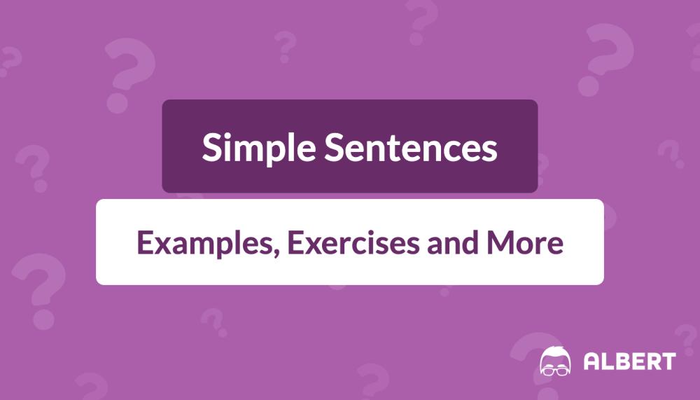 medium resolution of Simple Sentences: Definition