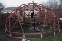 Building a Dome Greenhouse Plans