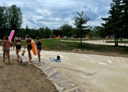 Whitecourt River Slides