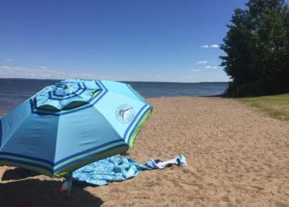 Camping at Pigeon Lake Provincial Park