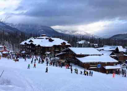 Families love Fernie Alpine Resort