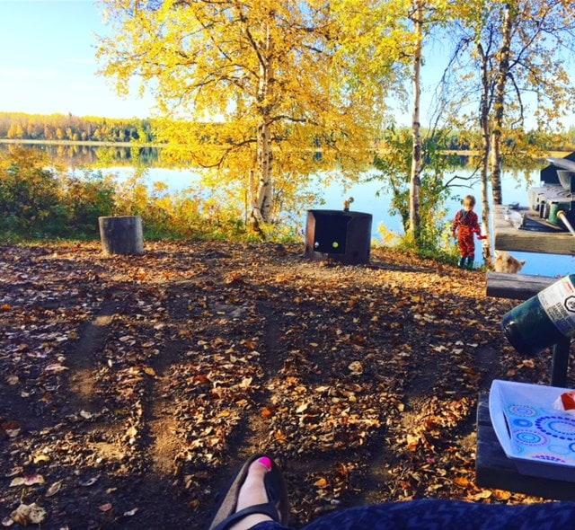 Booking a campsite in Alberta