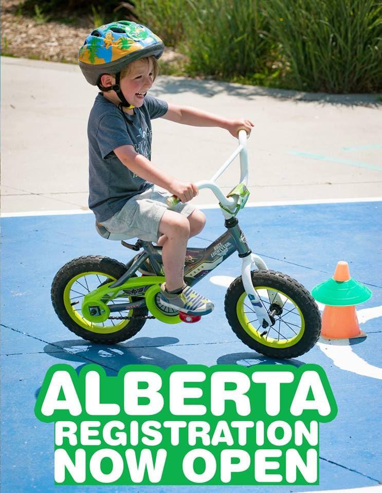 Bike camps in Alberta
