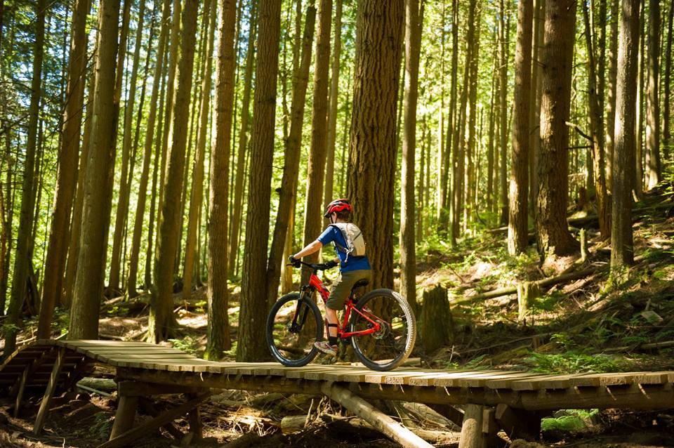 Biking camps in Alberta
