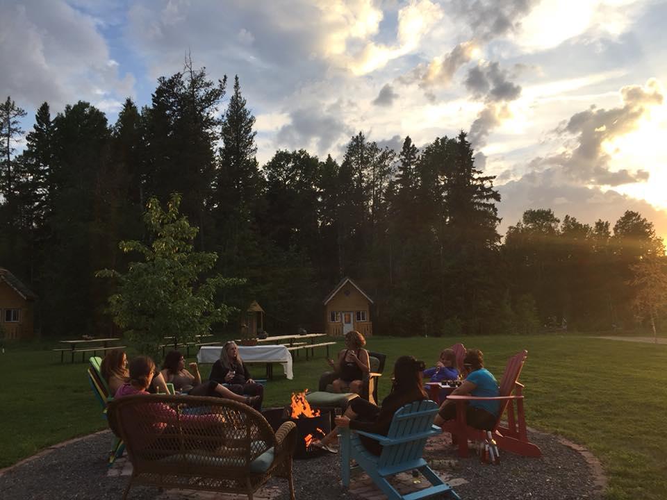 Retreats in Pigeon Lake
