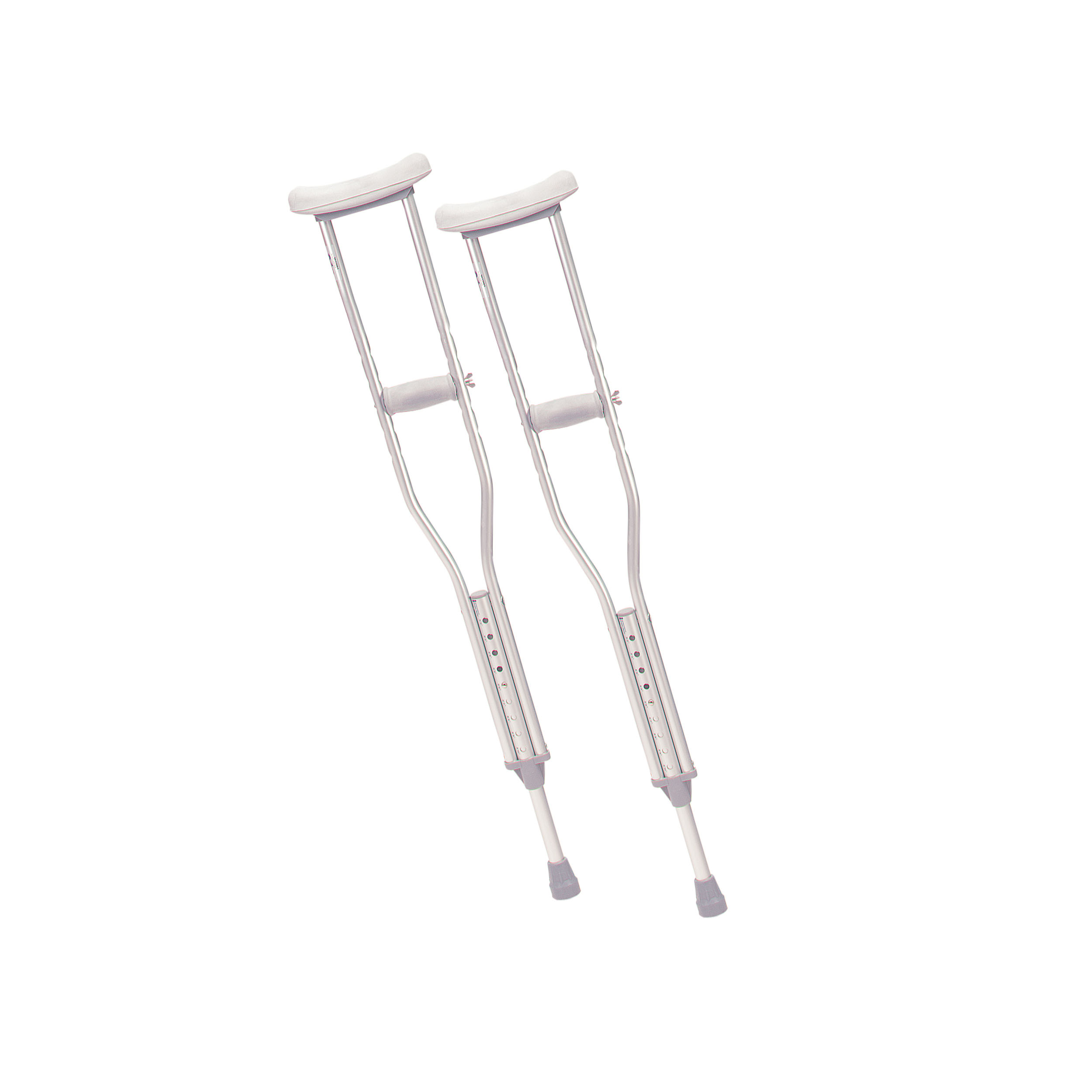 Walking Crutches With Underarm Pad And Handgrip Youth 1