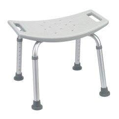 Drive Medical Bathroom Safety Shower Tub Bench Chair With Back Gray Vintage Plastic Chairs  Ams