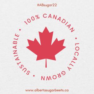 100% canadian sugar