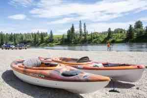 Red Deer river kayaks