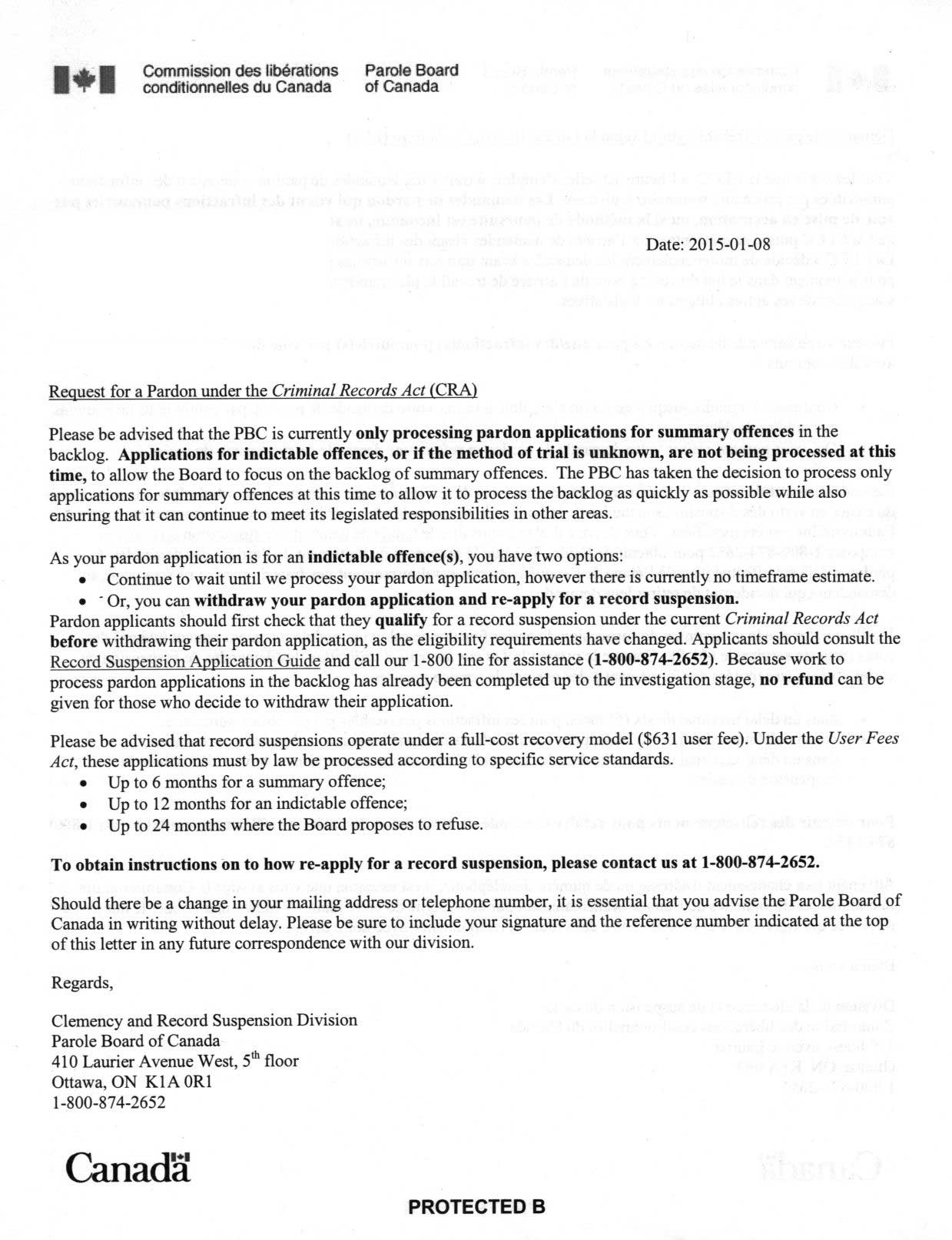 Failed Background Check Letter Template