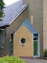 Detailbeeld kerk Heemse