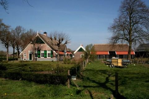 boerderijcomplex met schuur
