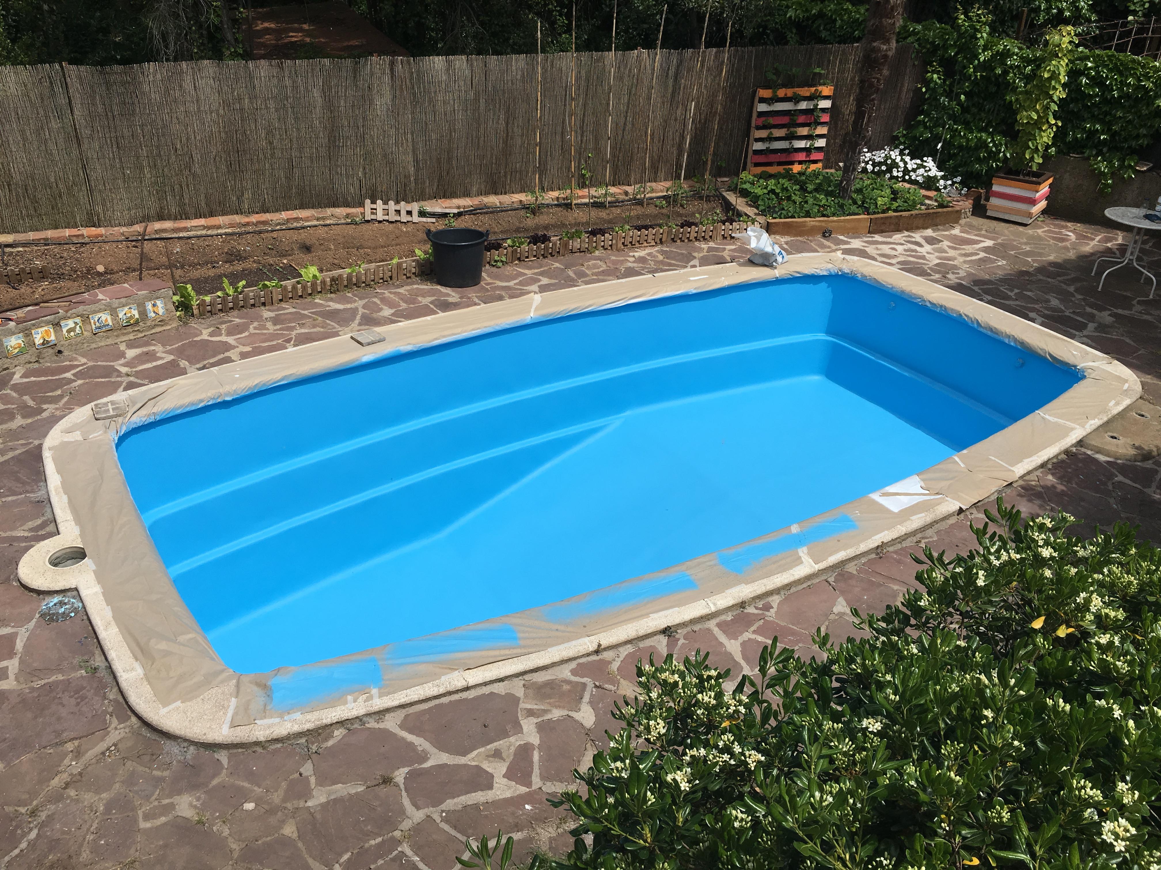 Pintat de piscina