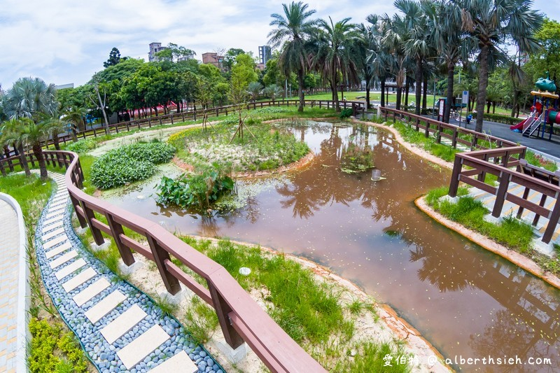 朝陽森林公園&朝陽水語教育園區(生態資源豐富還有必拍的桃園藍曬圖) @愛伯特吃喝玩樂全記錄