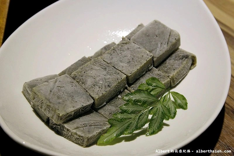 芝麻凍豆腐