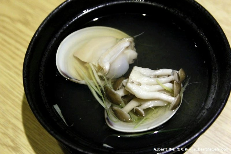 台北大同.若獅子和食:蕈菇文蛤汁