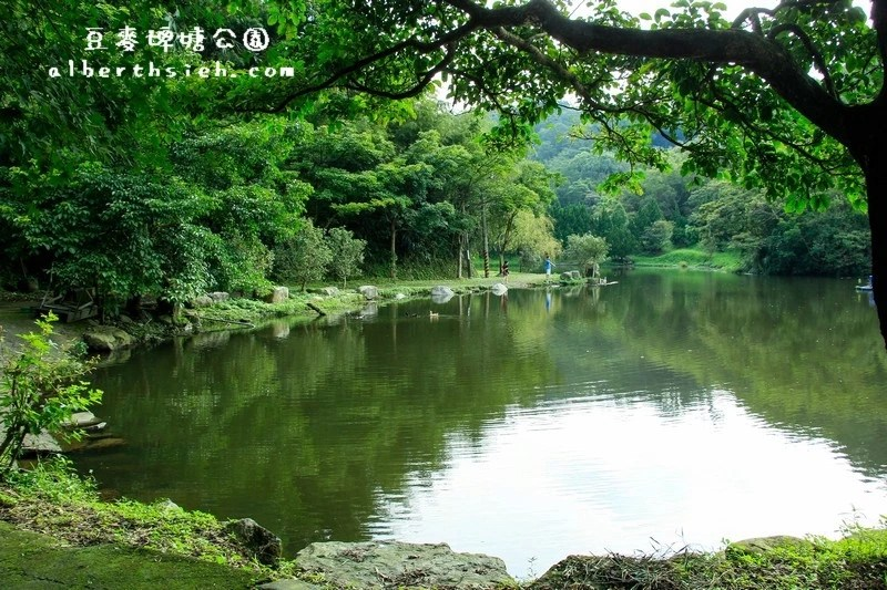 豆麥埤塘生態公園.桃園大溪景點(童話仙境般的秘境)
