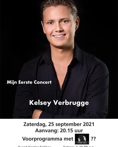 Mijn eerste concert Kelsey Verbrugge