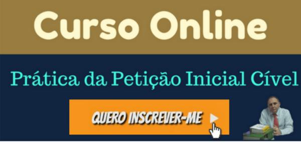 Curso Online de Prática Jurídica Civil  Prof Alberto Bezerra 