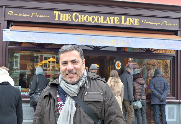 The Chocolate Line. ¡Muerte por el Chocolate!