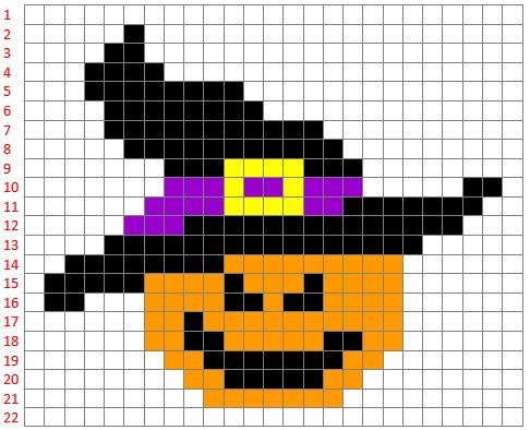 pixel art harry potter facile