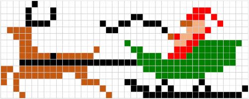 Coding Unplugged E Pixel Art La Scheda Completa Della Renna E La