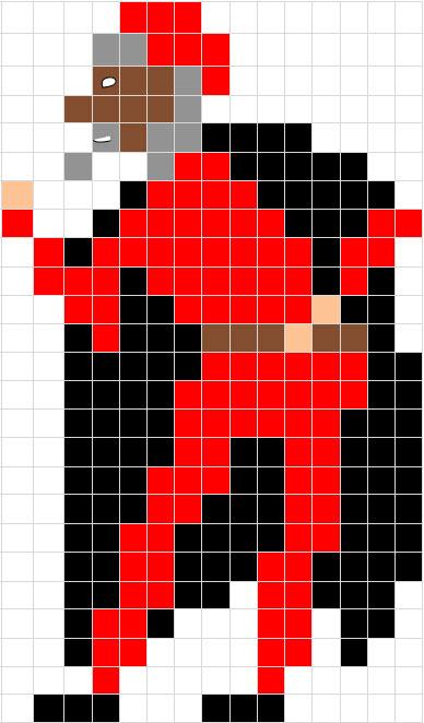 Coding Unplugged E Pixel Art La Scheda Di Carnevale Di Pantalone