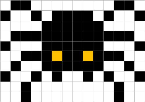 10 Schede Facili Per La Festa Di Halloween In Pixel Art