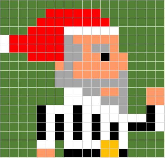 Disegni Di Natale A Quadretti.Natale Maestro Alberto