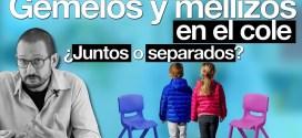Gemelos y Mellizos: múltiples juntos ¿o separados en el colegio?