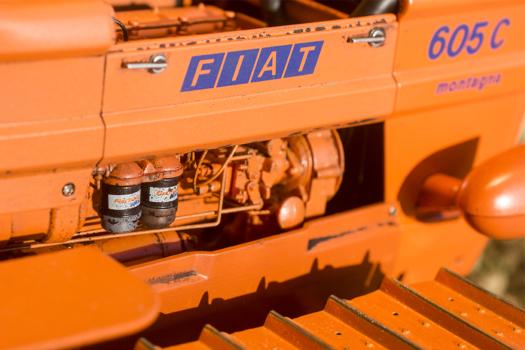 Modellismo,Super landini.Fiat 605 C, scala 1/8