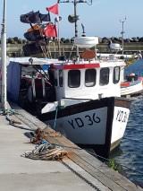 Fiskebåt i Kåseberga