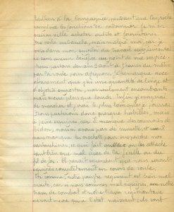 08 aout 1914 - Equipement
