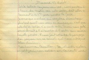19140812-001 quatrieme étape : Caumont
