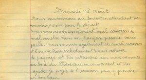 19140818-001 Départ pour Le Pontet