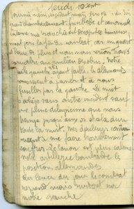 19140910-002 Dans la tranchée à Souilly