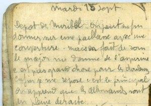 19140915-001 Dépôt d'isolés éclopés de Verdun/Miribel