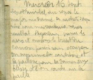 19140916-001 Regardons passer les aéros au dépôt d'éclopés de Miribel