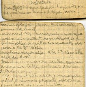 19141016-001 Je suis nommé caporal fourrier