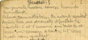 19141105-001 L'ennemi tente de se forcer un passage