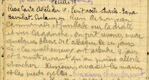 19141119-001 On voit revenir encore quelques blessés de l'attaque